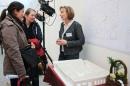 Die zukünftige Kita-Leiterin Sabine Luthardt erläuterte Interessierten die Pläne.