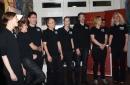 Der Potsdamer Chor deliceight eröffneten musikalisch das Buffet.