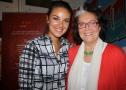 Janina Uhse ist Schirmherrin für die von Claudine Krause gegründete Jugendnotmail.