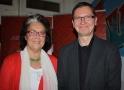 Claudine Krause und Thomas Mampel hatten gemeinsam zum Chrity-Abend eingeladen.