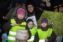 Auch die Kinder trommelten für eine Tempo 30-Zone.
