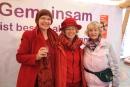 Petra Drachenberg, Sabine Plümer und Rosemarie Kaatz (von links) teilten sich einen Stand.
