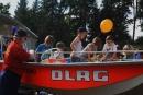 Das Boot der DLRG war bei den Kindern heißbegehert.