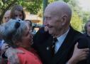 Alte Freunde begrüßte der Veteran in seiner