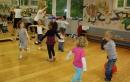 Dann ging es drinnen weiter, unter anderem mit einem Tanzworkshop ...