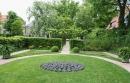 ovaler Garten