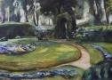 Max Liebermann, Das Rondell im Heckengarten 1923, Privatbesitz
