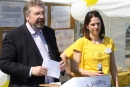 Gratulanten gab es viele, wie den Staatssekretär Andreas Statzkowski.