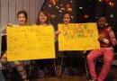 Die Kinder im KiJuNa hatten sich auf den Besuch gut vorbereitet.