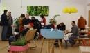 Neben den fünf Läden wurde auch die Ausstellung GartenArbeiten eröffnet.
