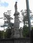 Der Vier-Winde-Brunnen wurde 1912 von Lankwitzer Bürgern gestiftet.