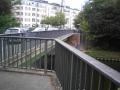 An der Hannemann-Brücke endet die Leonorenstraße.