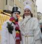 Auch Engel und Schneemänner waren willkommen.