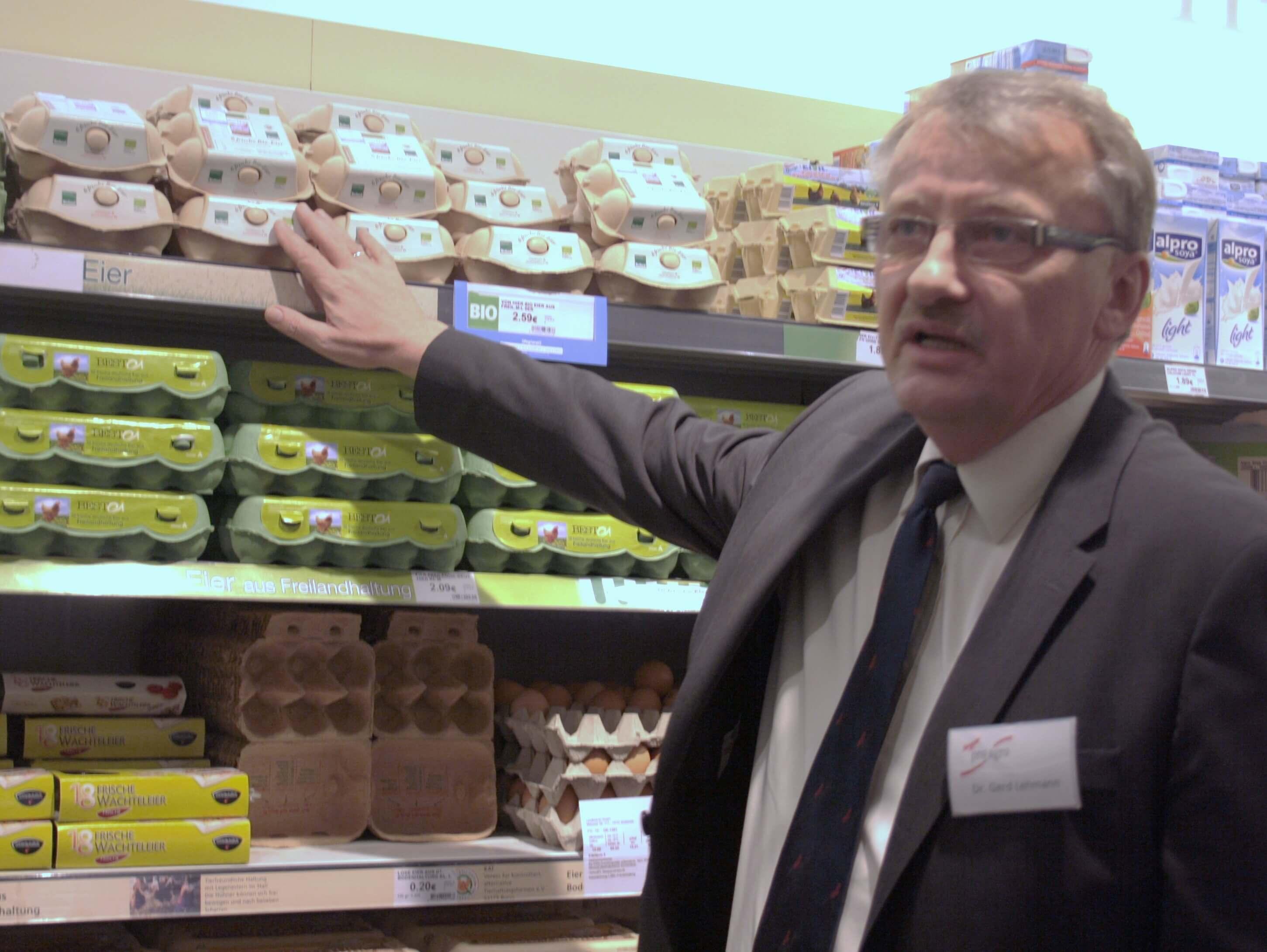 """Woher kommt mein Lebensmittel?: """"Regionalfenster"""" startet im Kaiser's an der Clayallee"""