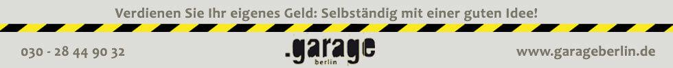 Anzeige Garage
