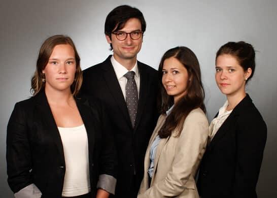 FU-Jurastudenten erreichen 1. Platz beim internationen Wettbewerb zum Europarecht
