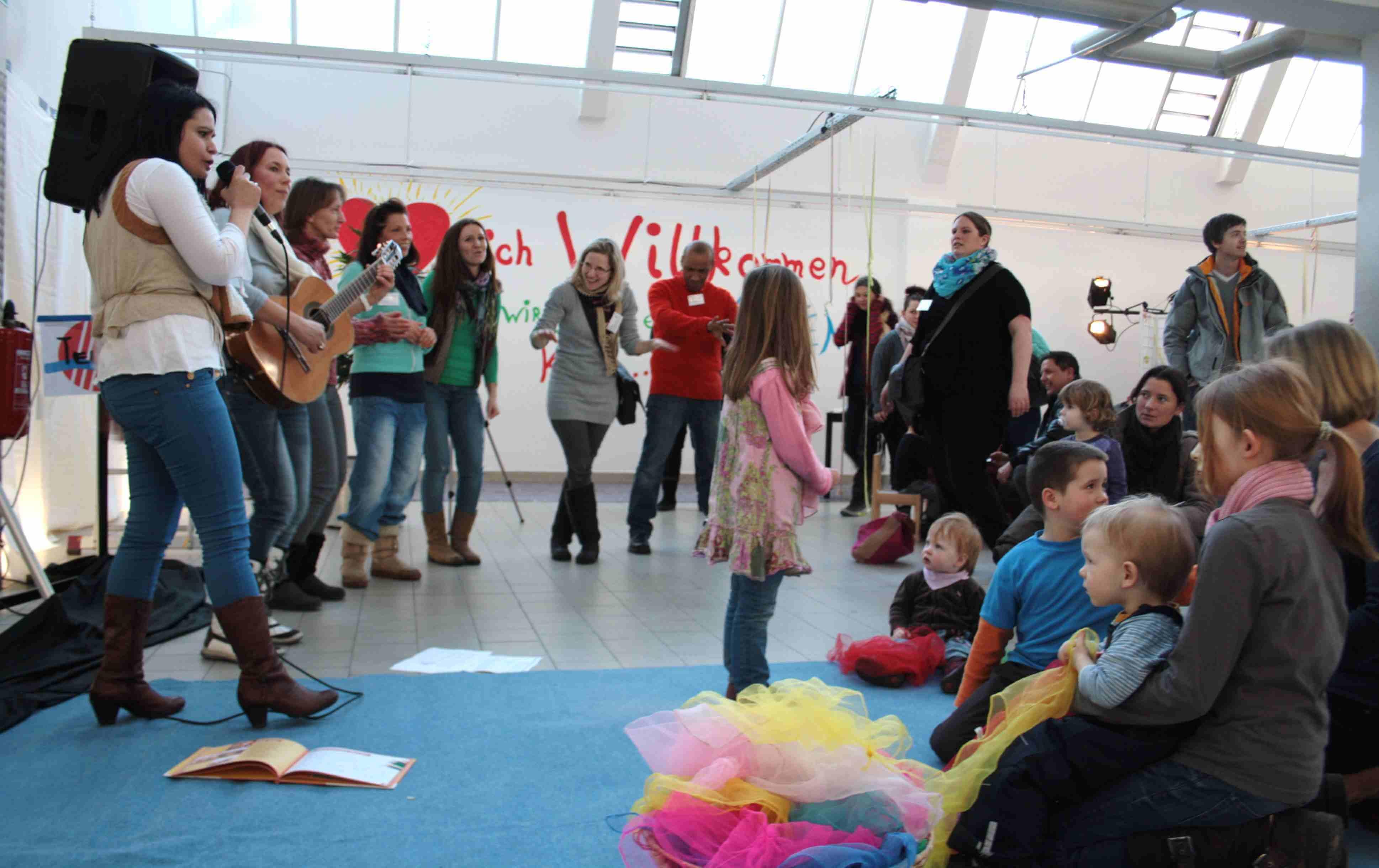 Von der Supermarkthalle zum Kinderparadies: Bau-Auftakt-Party für Kita an der Malteserstraße