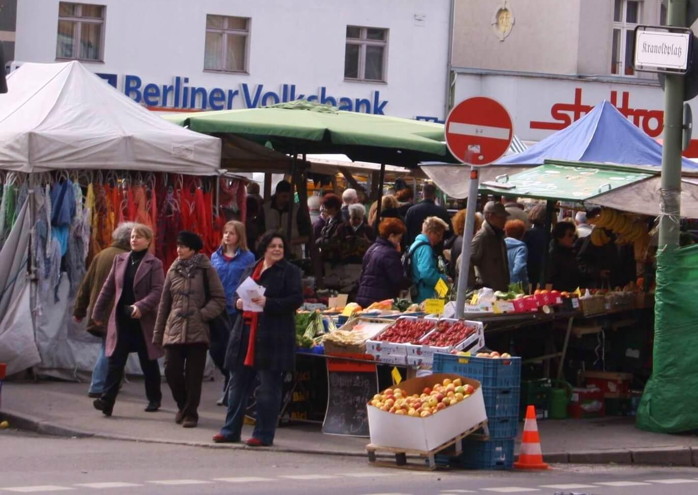 """""""Wir wollen den Markt nicht kaputt machen"""": BI Kranoldplatz wehrt sich gegen Vorwürfe"""