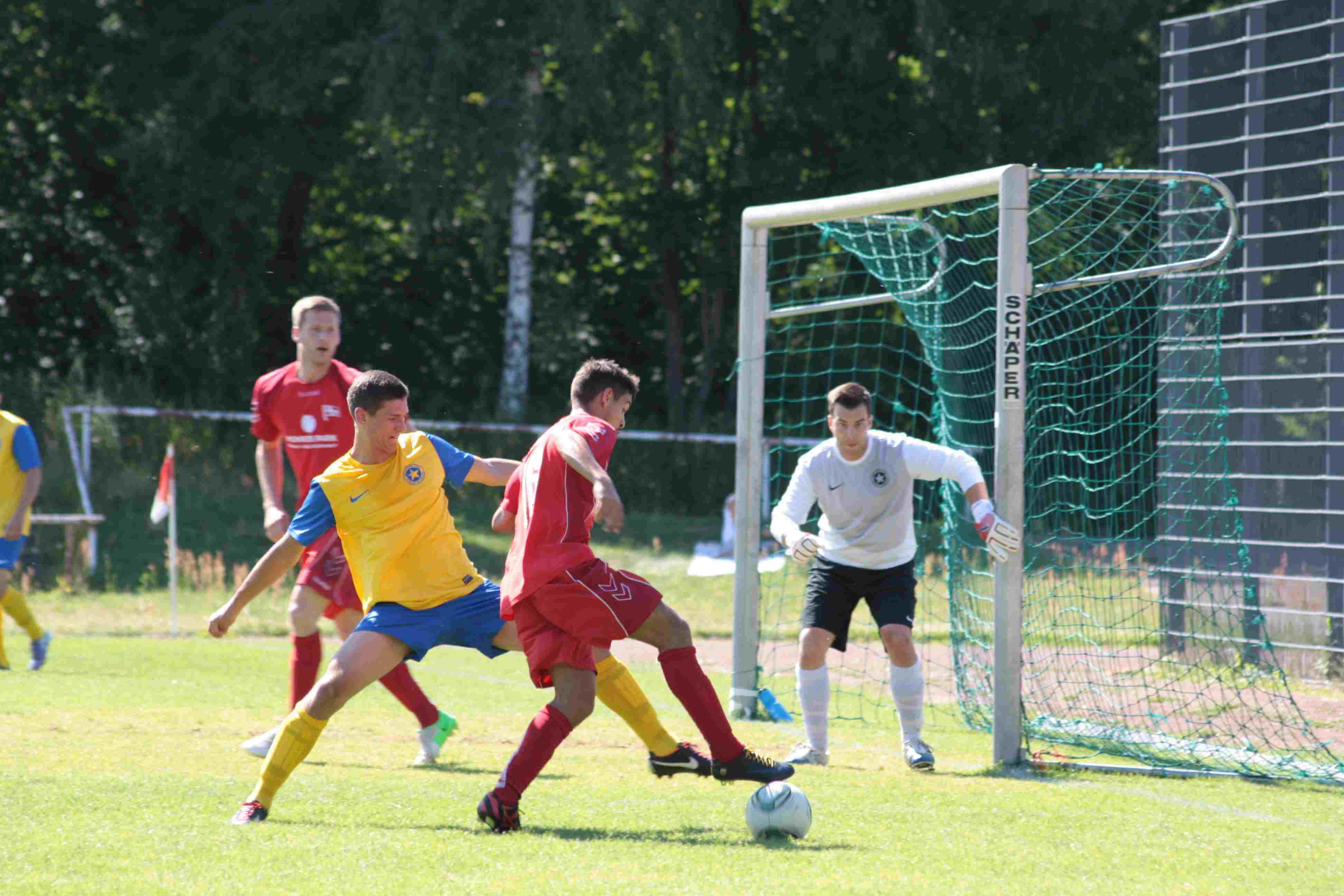 Hertha gewinnt Endspiel um den Bezirkspokal: Robben schießt dabei zwei Tore
