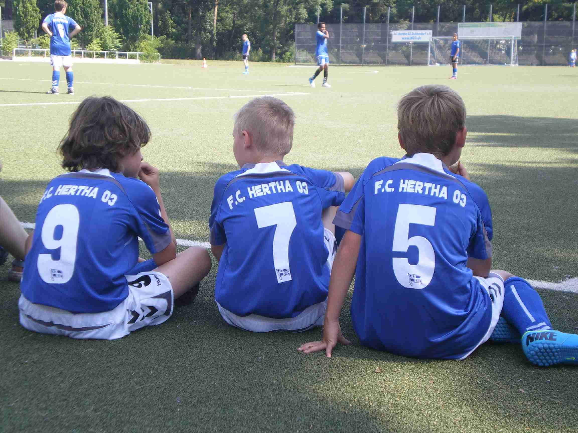 Ausgleich in letzter Minute, aber unrühmlicher Abgang: Hertha 03 spielt gegen TeBe 1:1