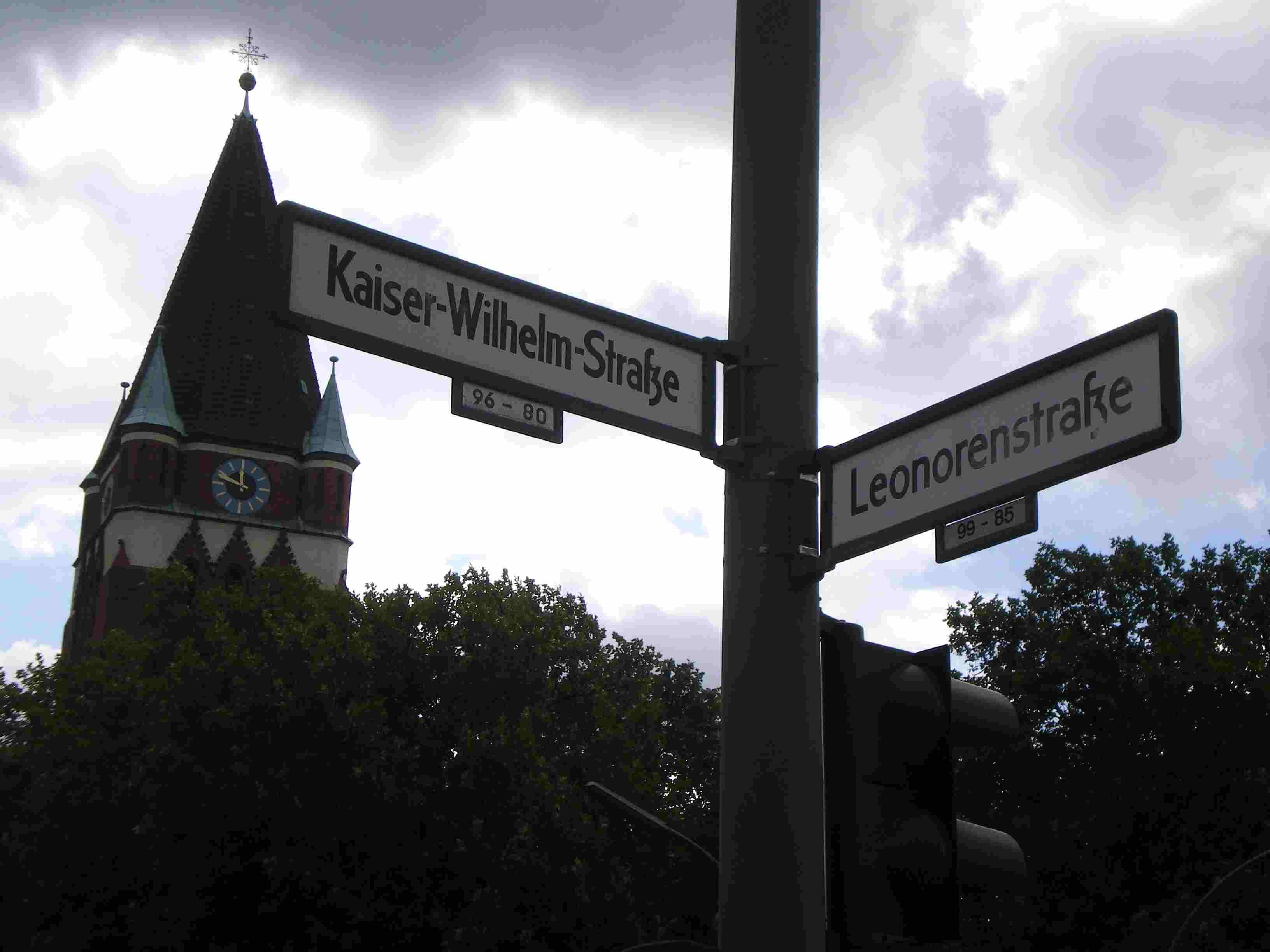 StraßenABC: L wie Leonorenstraße