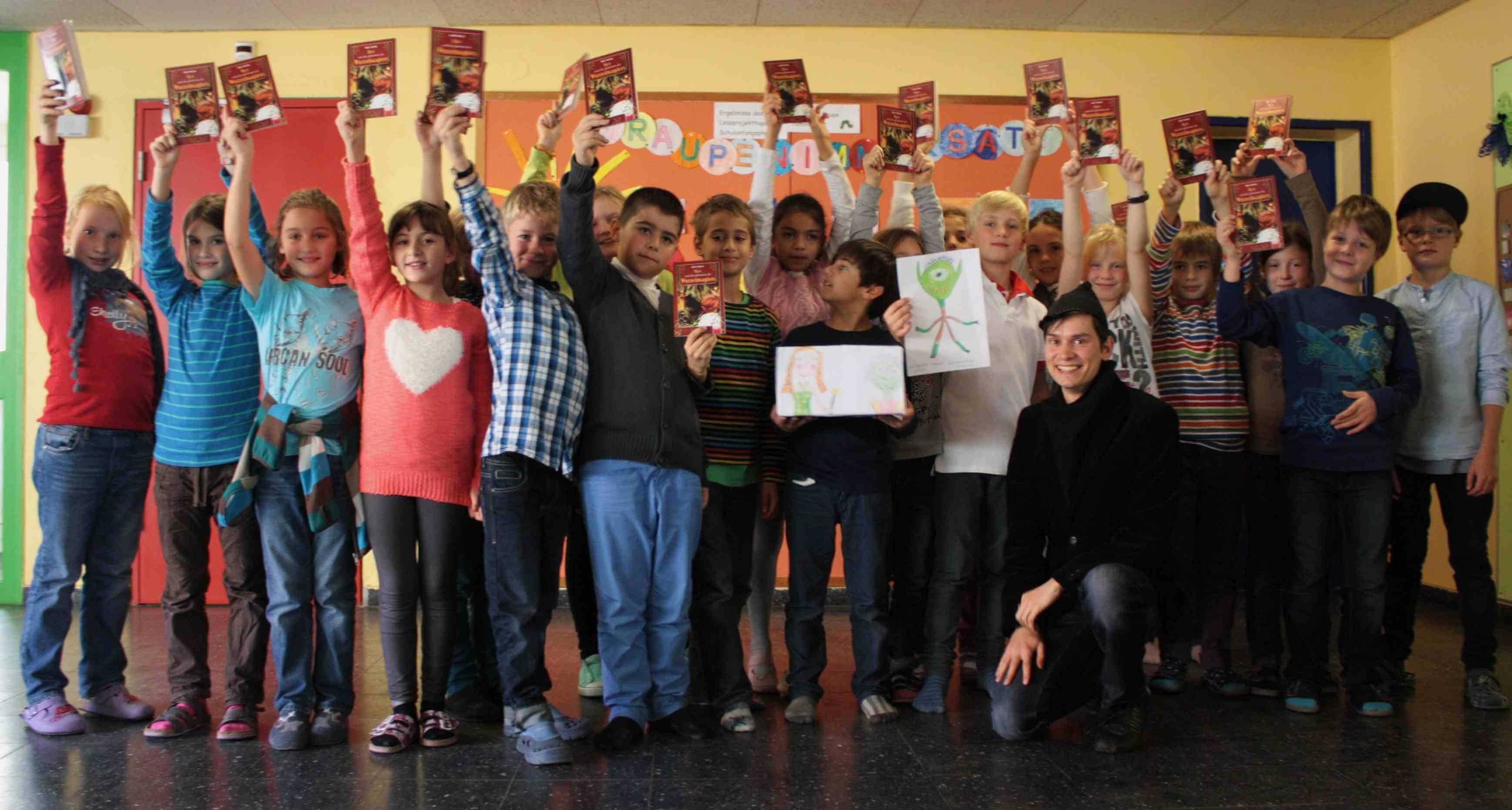 Filips Glücksfee macht das Rennen: Grundschule am Karpfenteich gewinnt Malwettbewerb