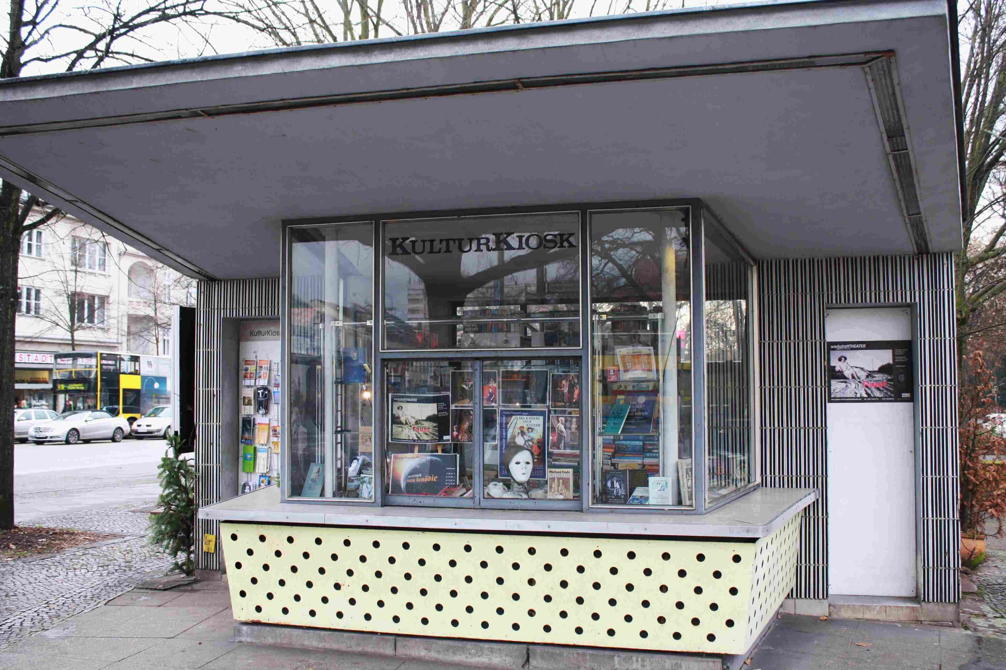 "Ideen für den ""KulturKiosk"" in Zehlendorf – Bezirk berät Konzepte"