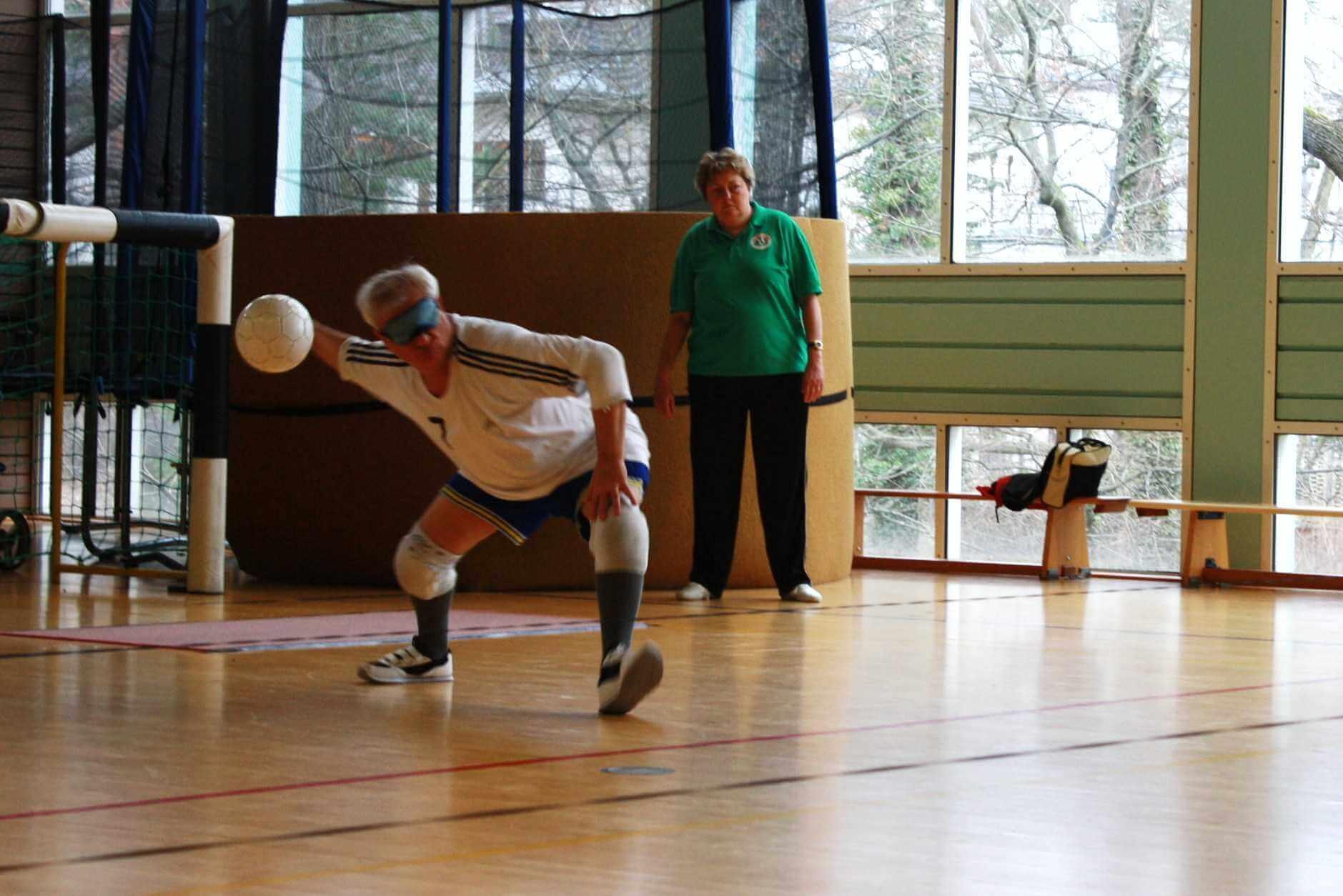 Jubiläums-Torball-Turnier mit Live-Übertragung in Steglitz