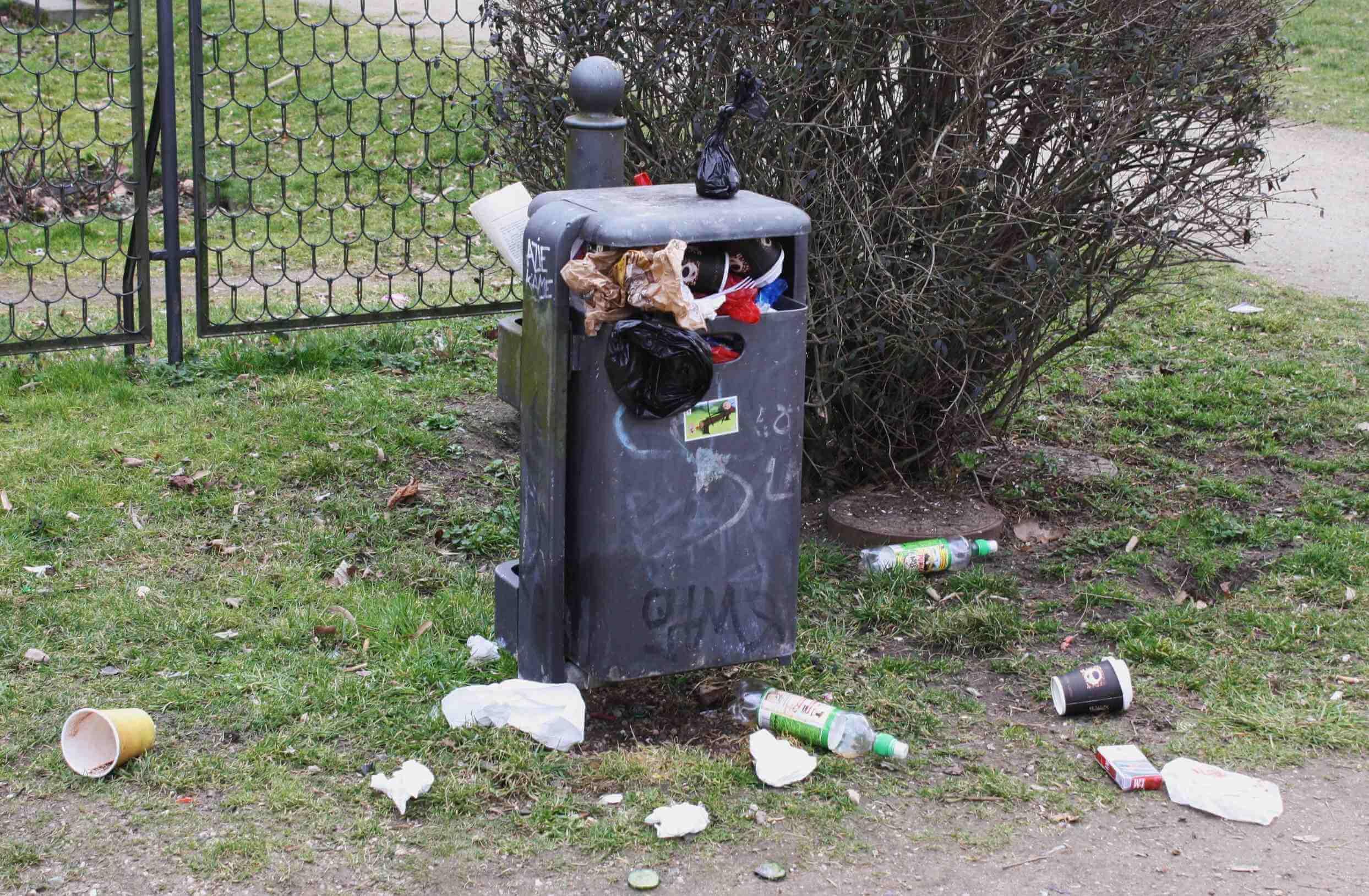 Wir haben die Schnauze voll von eurem Müll!