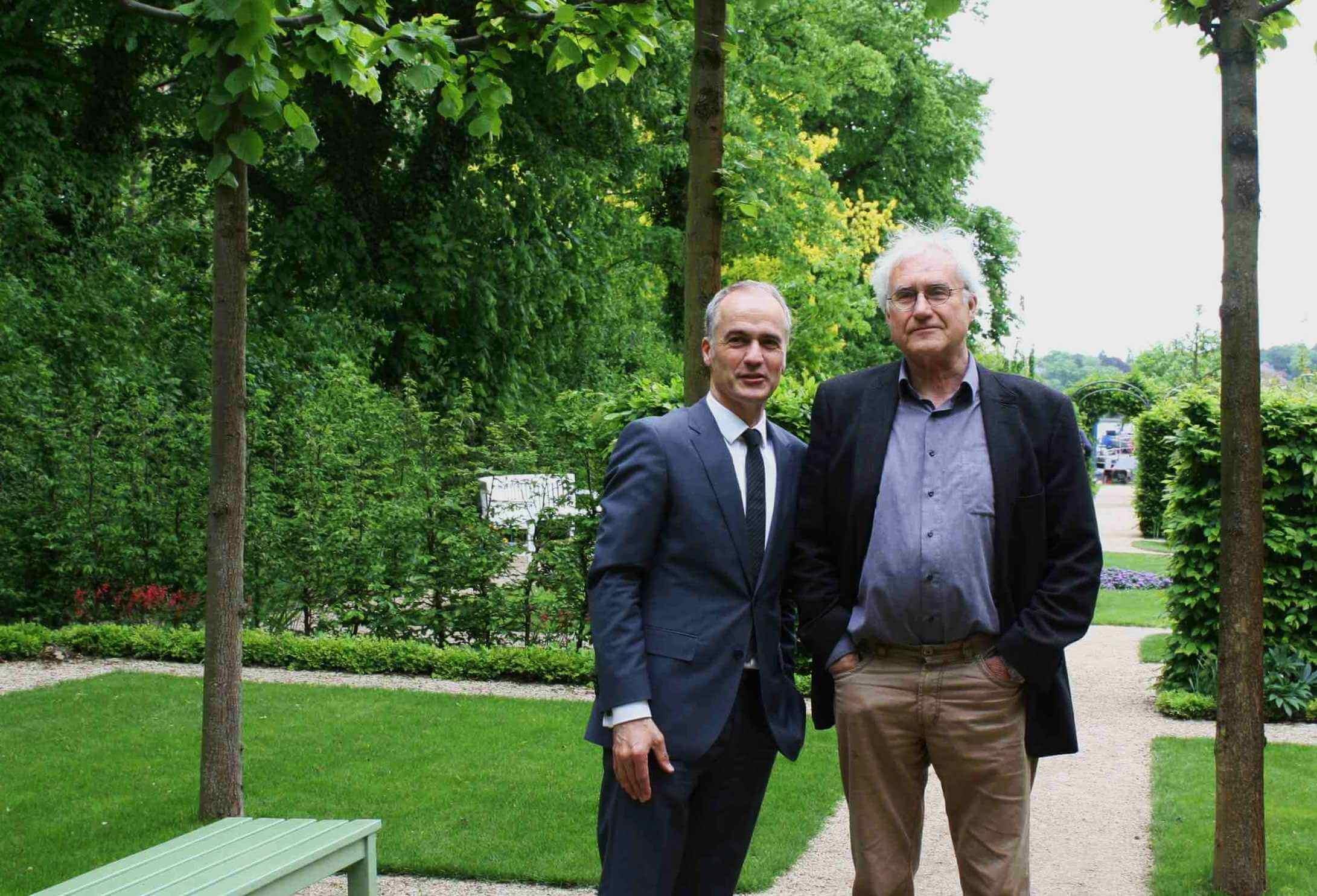 Der vollendete Garten: Heckengärten der Liebermann-Villa werden eröffnet
