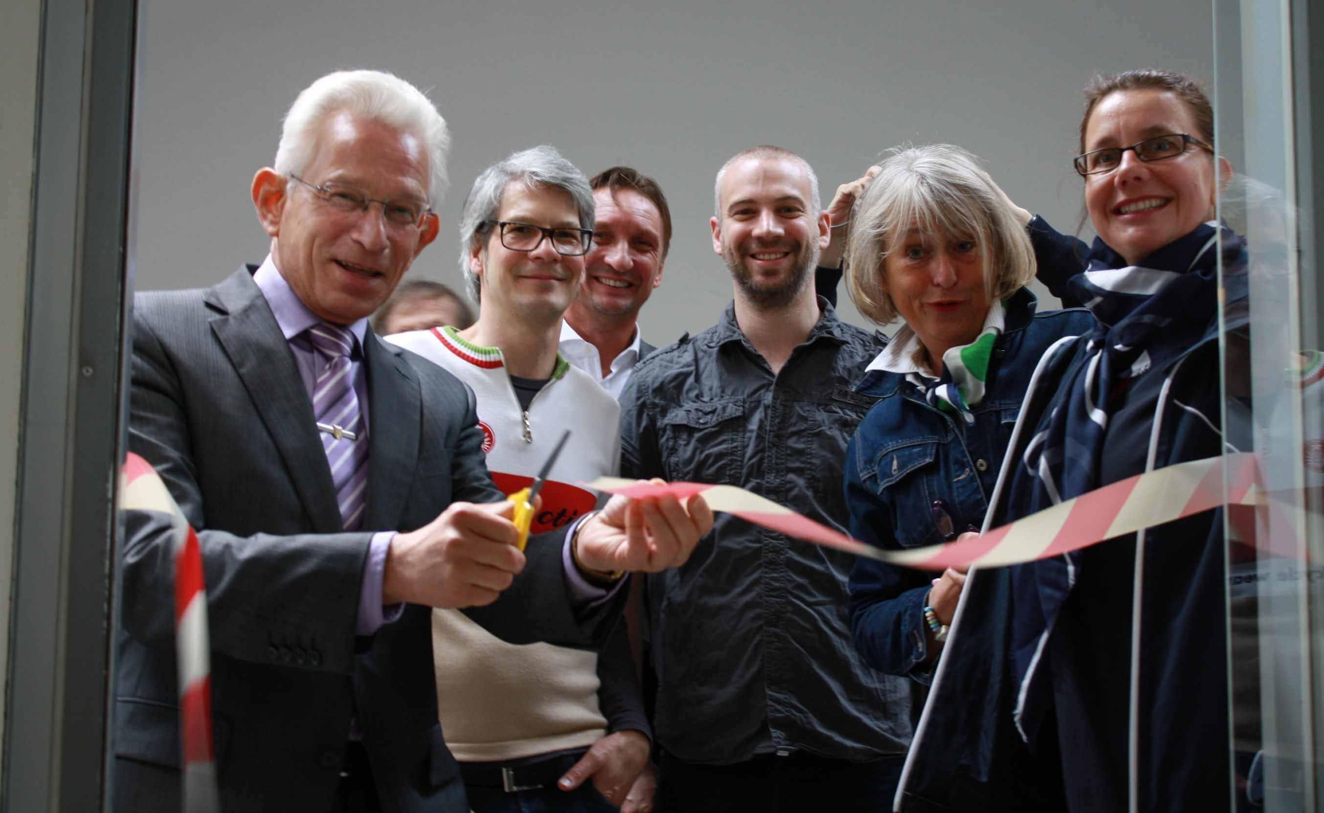 Neues Leben in der Ladenstraße: Zukunftskiez Onkel Tom feierte Neueröffnung von fünf Läden
