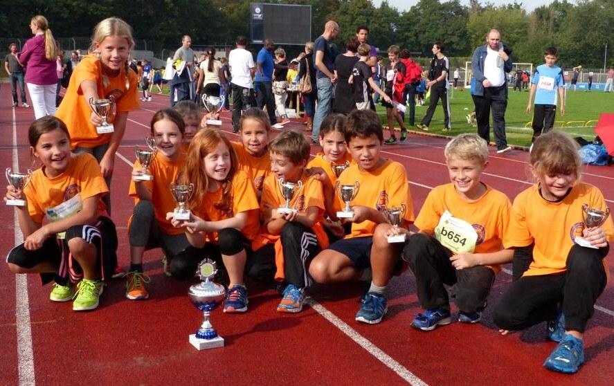Leichtathletik-Kinder der LG Süd Berlin werden Cup-Sieger 2014