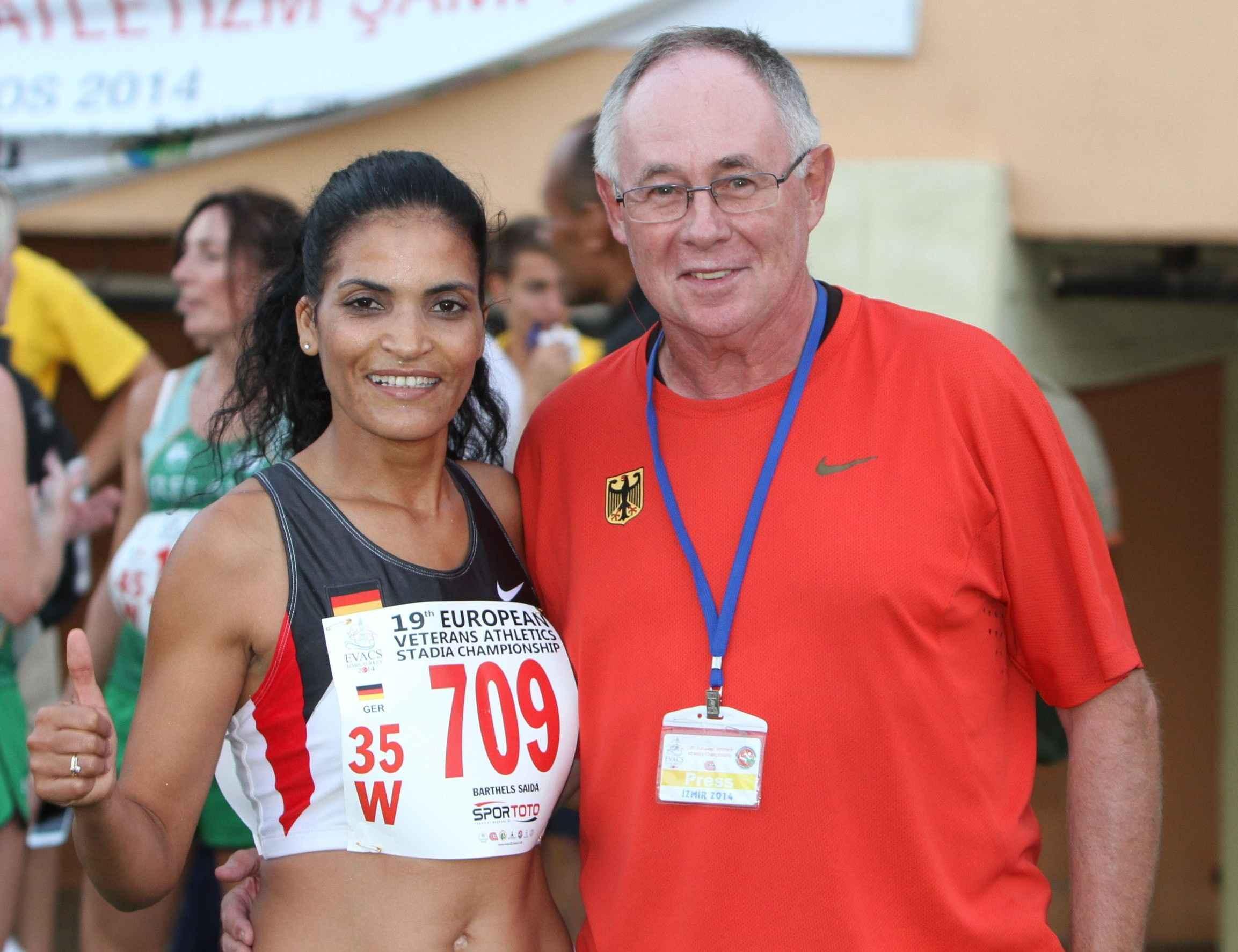 Leichtathletik: Saida Barthels startete für die LG Süd bei den Seniorenmeisterschaften