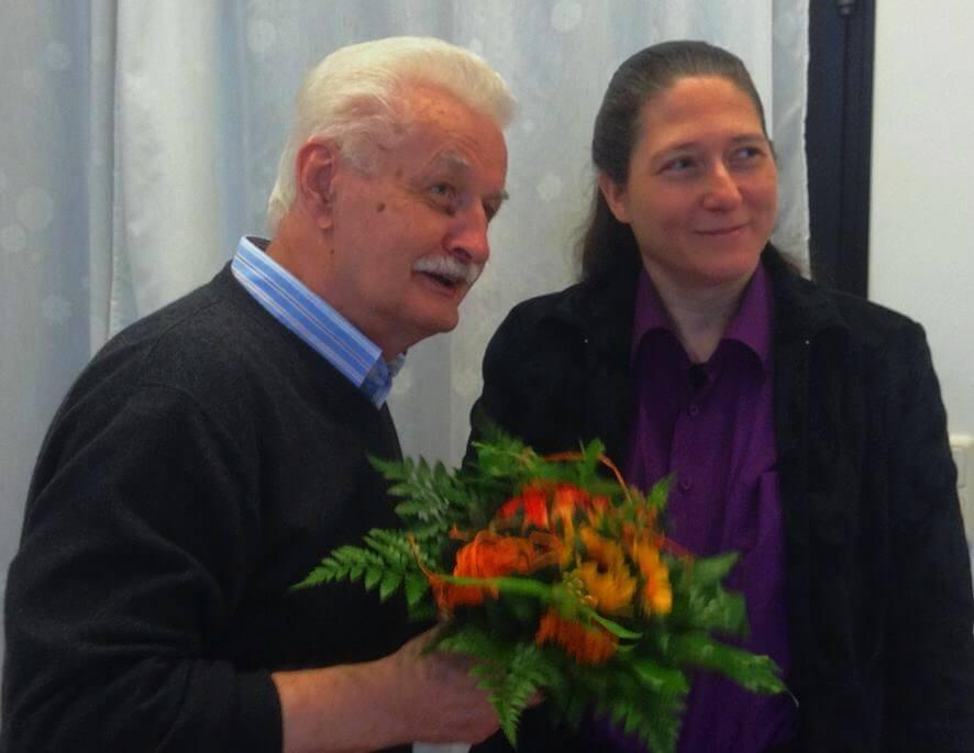 Annette Pohlke ist neue Vorsitzende der Inititiative KZ-Außenlager Lichterfelde