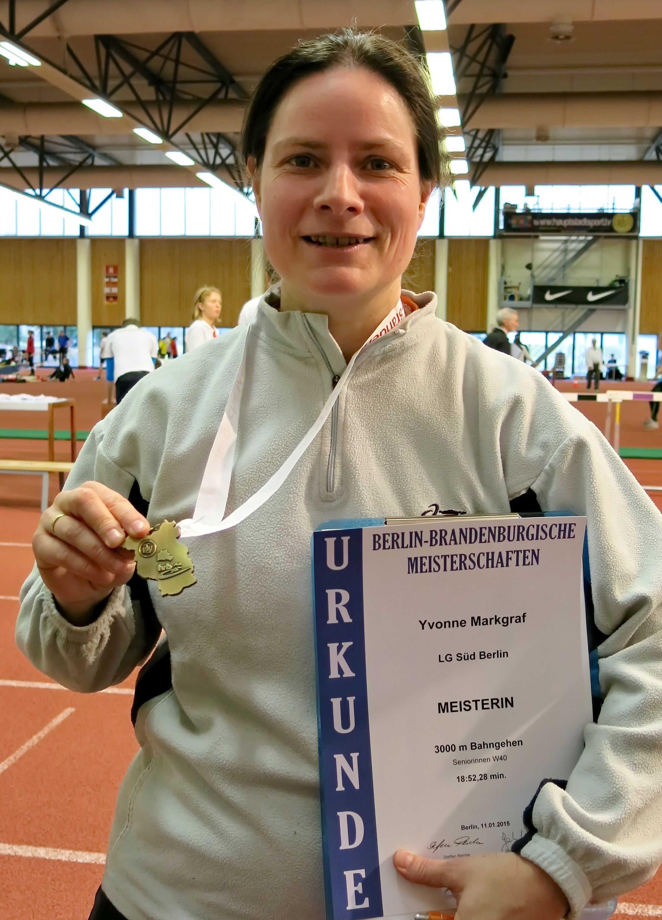 LG Süd Berlin holt ersten Titel bei den Berlin-Brandenburgischen Meisterschaften