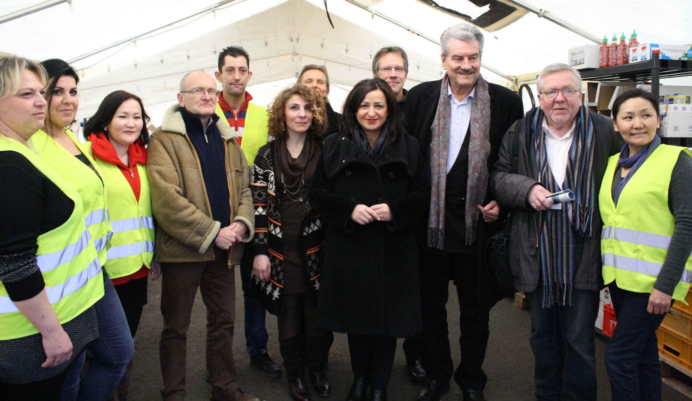 """""""Vorbildliche Willkommenskultur"""": Senatorin Dilek Kolat zu Besuch in Steglitz-Zehlendorf"""