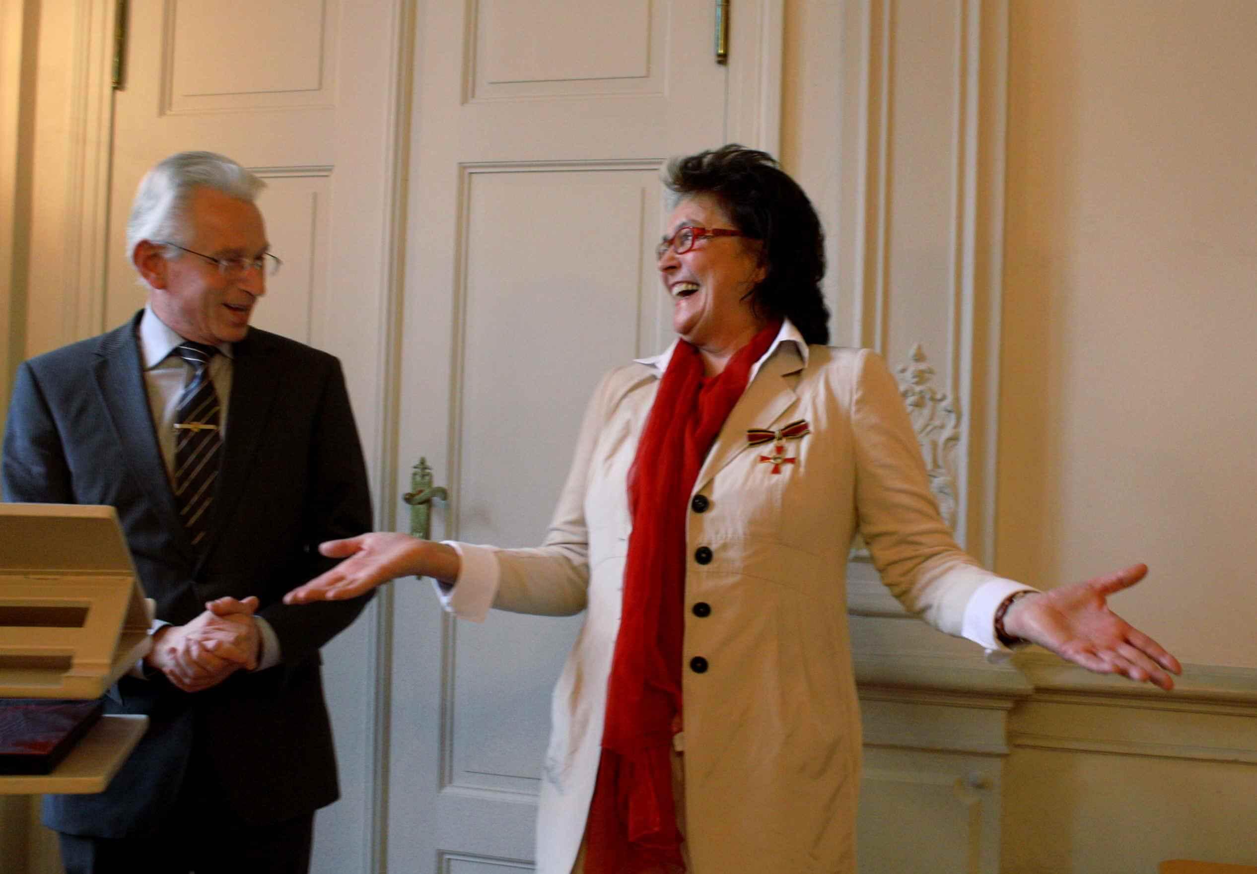 Auszeichnung für Jugendnotmail: Claudine Krause erhält Bundesverdienstkreuz