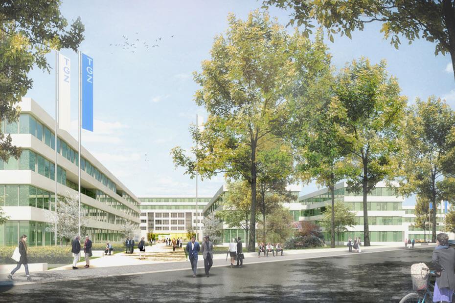 Bebauungsplan zum neuen Innovations- und Gründungszentrum in Dahlem liegt ab Montag aus