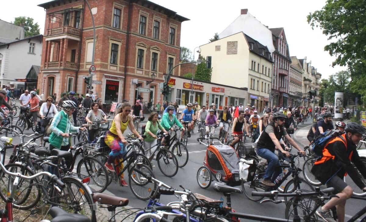 Fahrrad-Sternfahrt: Am Sonntag wird es in Steglitz-Zehlendorf Straßensperrungen geben