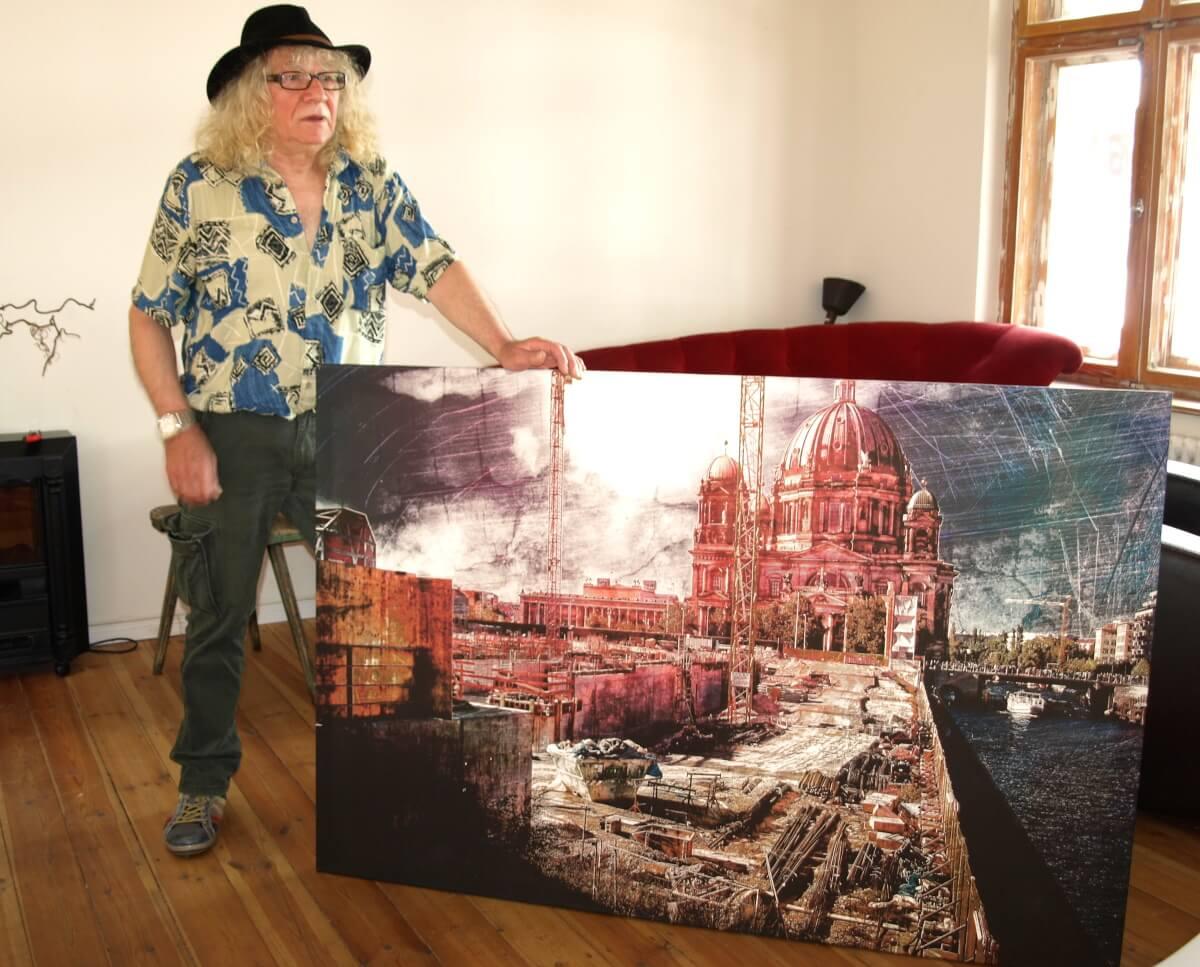 Rahmenlose Kunst: Ausstellung mit Werken von Ton Belowskey in Steglitz