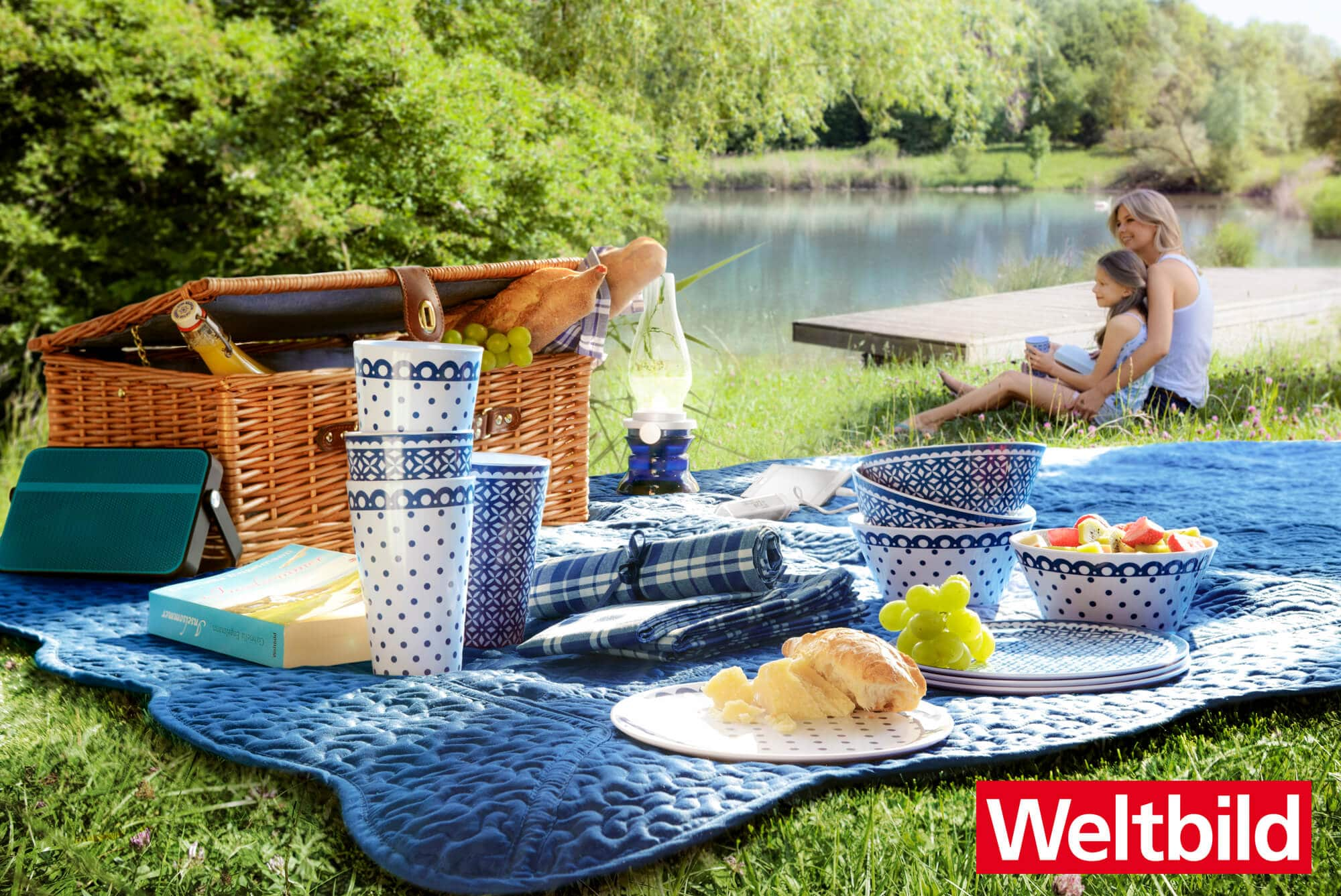 picknick am see wir verlosen ein picknickset von weltbild stadtrandnachrichten. Black Bedroom Furniture Sets. Home Design Ideas
