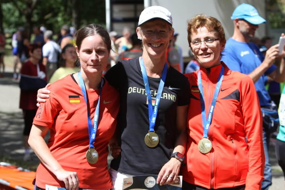 LG Süd Silber und holt Bronze bei Senioren-Weltmeisterschaften in Lyon