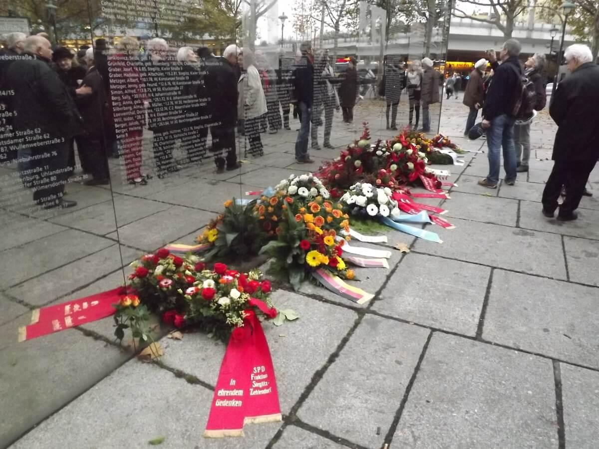 Steglitz-Zehlendorf gedenkt der Opfer der Reichspogromnacht