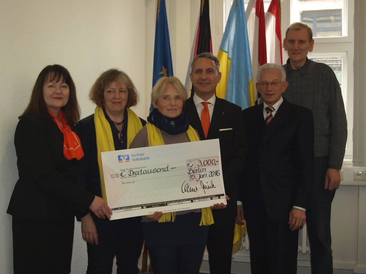 Unterstützung für Vereine: KJRFV und Bezirkssportbund Steglitz-Zehlendorf erhalten Finanzspritze