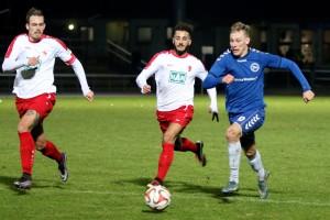 Gegen den BAK kickte sich Hertha 03 in die nächste Pokal-Runde. Foto: Kerstin Kellner