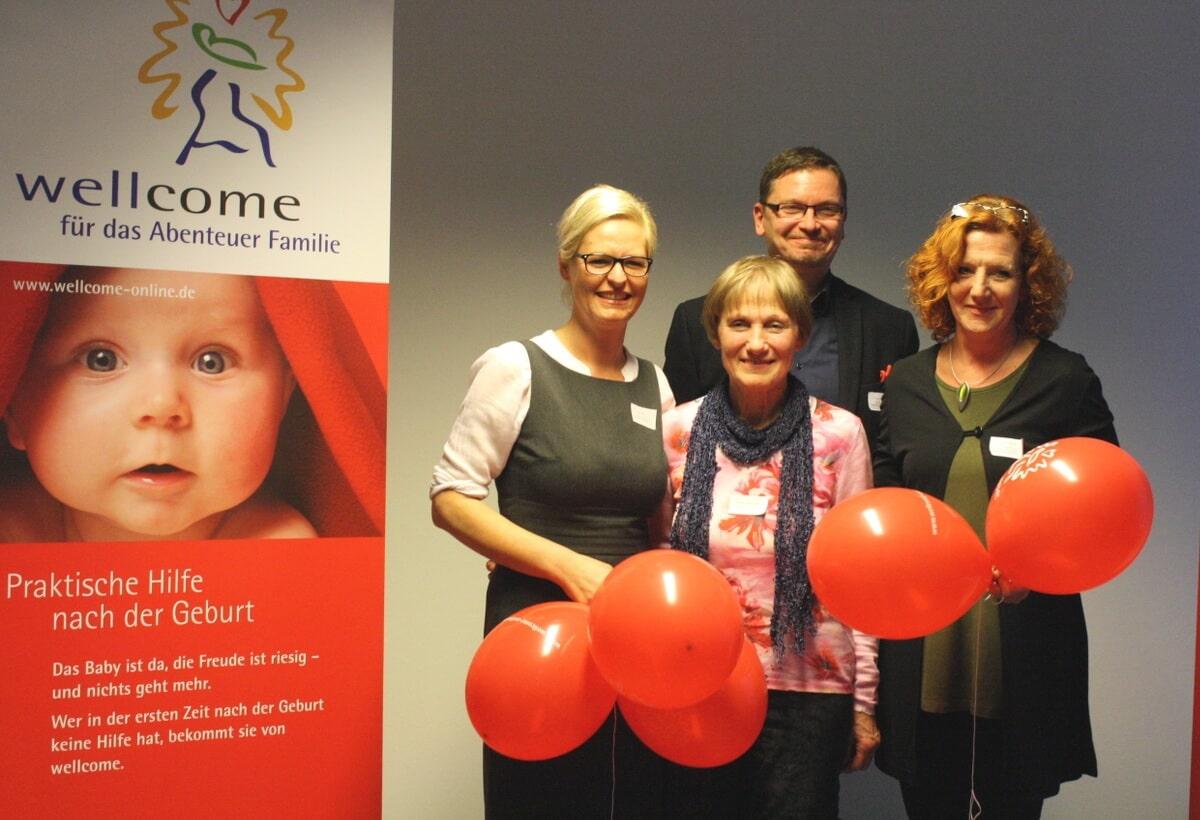 Hilfe von Herz zu Herz: Wellcome Steglitz unterstützt junge Mütter