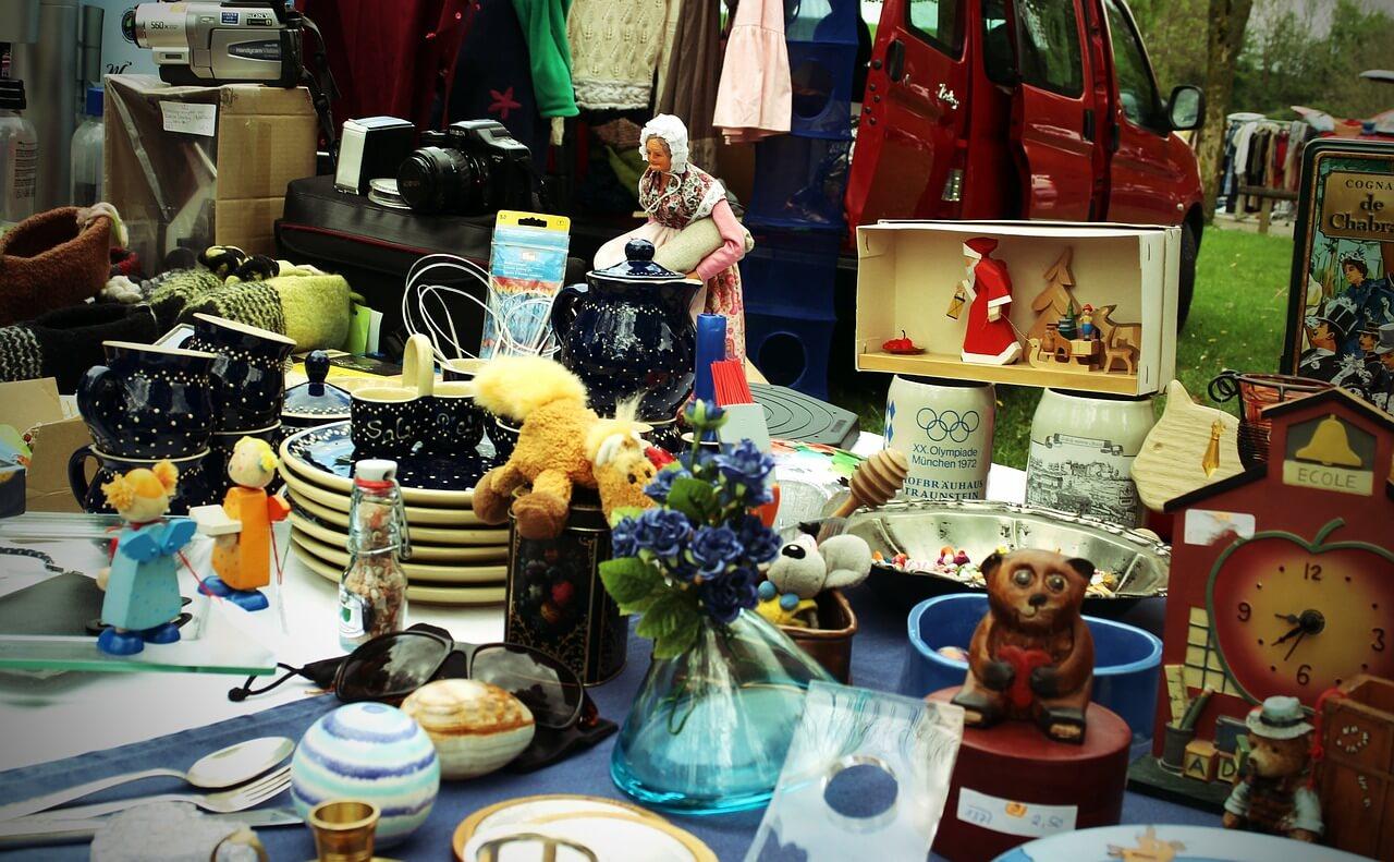 Steglitz-Zehlendorf startet in die Flohmarktsaison: Babybasare und Trödelmärkte am kommenden Wochenende