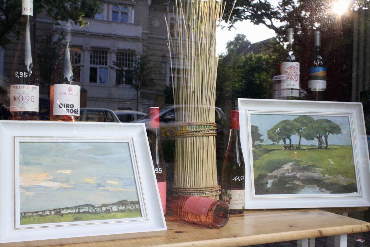 Kunst im Kiez: Geschäfte in Lichterfelde-West werden zu Kunstgalerien