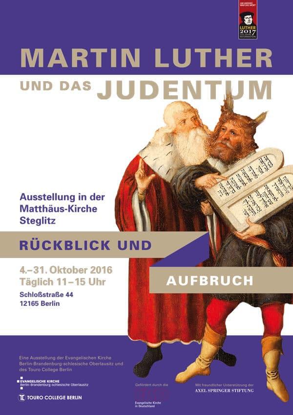 Luther und das Judentum: Wanderausstellung in Steglitz
