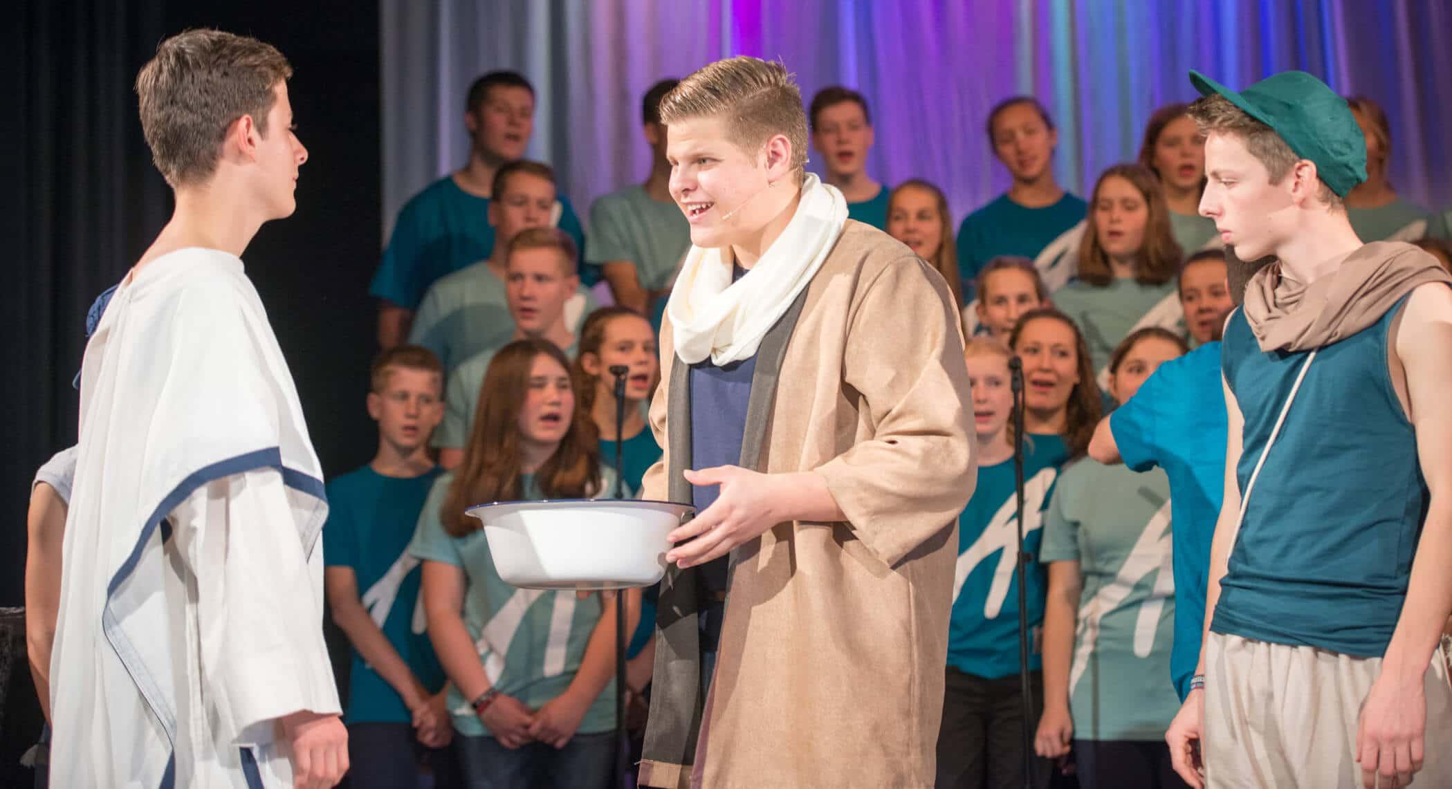 """Adonia‐Musical """"Petrus – Der Jünger"""" in der Kirche Zur Heimat in Zehlendorf"""
